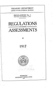 Regulations: Issue 1