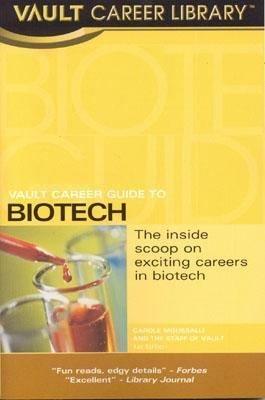 Vault Career Guide to Biotech PDF