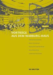 Vorträge aus dem Warburg-Haus: Band 11