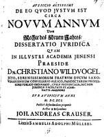 De eo quod iustum   justum est circa novum annum PDF