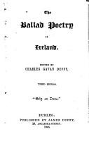 The Ballad Poetry of Ireland PDF