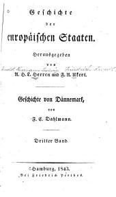 Geschichte von Dännemark: Band 3