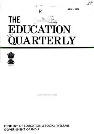 The Education Quarterly PDF
