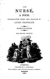 The Nurse,: A Poem. Translated from the Italian of Luigi Tansillo