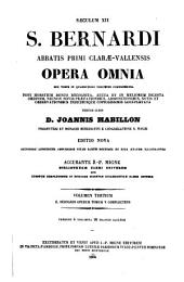 Opera omnia: sex tomis in quadruplici volumine comprehensa, Volume 3