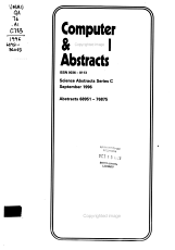 Computer   Control Abstracts PDF