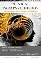 Clinical Parapsychology  Extrasensory Exceptional Experiences  1st Edition PDF