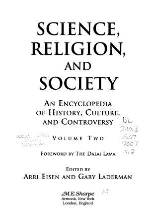 Science  Religion  and Society PDF