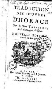 Traduction des Oeuvres d'Horace