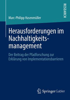 Herausforderungen im Nachhaltigkeitsmanagement PDF