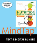 Nutrition for Health and Healthcare   Mindtap Nutrition  1 Term   6 Months Access Card