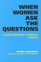 When Women Ask the Questions PDF