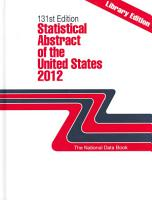Statistical Abstract of the United States 2012 PDF