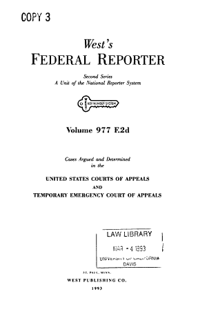 The Federal reporter  Second series PDF