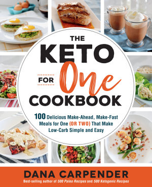 The Keto For One Cookbook PDF