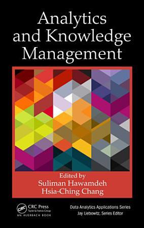 Analytics and Knowledge Management PDF