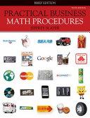 Loose Leaf Practical Business Math Procedures Brief w Bus Math Handbook  DVD V2  WSJ insert PDF
