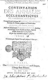 Abrégé des Annales sacrées et ecclésiastiques