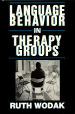 Language Behavior in Therapy Groups