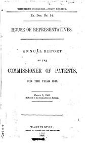 Annual Reports of the Department of Agriculture ...: Report of the Secretary of Agriculture. Reports of Chiefs