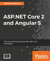 ASP NET Core 2 and Angular 5 PDF