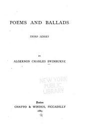 Poems and Ballads: 3d Ser