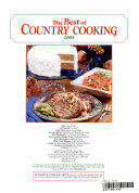 Best of Country Cooking 2003 Book