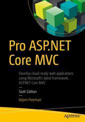 Pro ASP.NET Core MVC: Edition 6