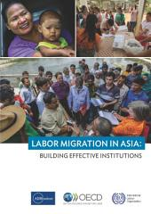Labor Migration in Asia Building effective institutions: Building effective institutions