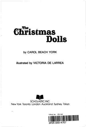 The Christmas Dolls