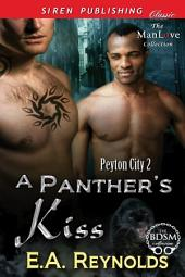 A Panther's Kiss [Peyton City 2]