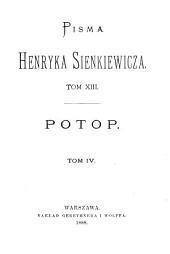 Potop: powieść historyczna, Tom 4