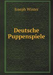 Deutsche Puppenspiele