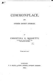 Commonplace, and Other Short Stories