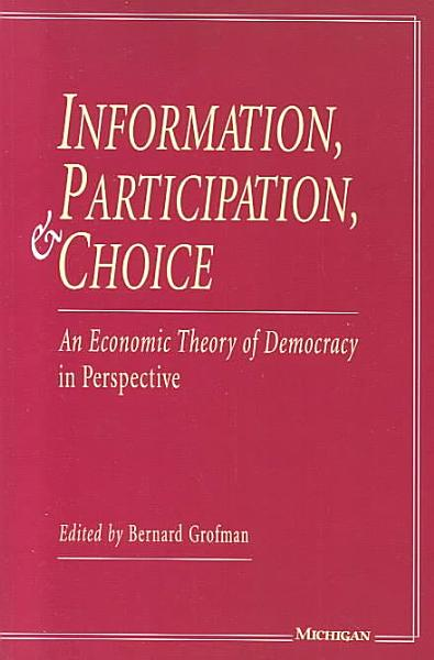 Information  Participation  and Choice