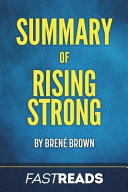Summary of Rising Strong Book