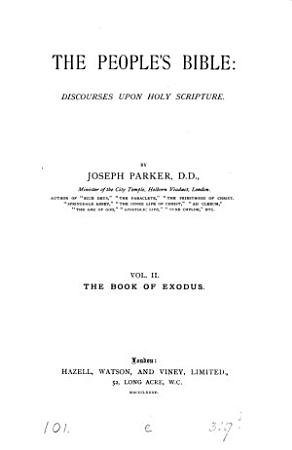 The people s Bible  discourses upon holy Scripture  25 vols   and  Index PDF
