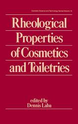 Rheological Properties of Cosmetics and Toiletries PDF