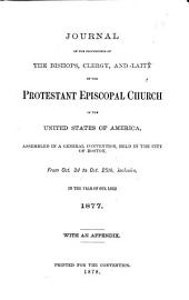 Journal of the General Convention of the Protestant Episcopal Church in the United States of America