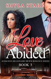 Love Abided: Audacious Billionaire BWWM Romance Series, Book 3