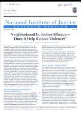 Neighborhood Collective Efficacy   PDF