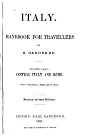 Italy, handbook for travellers: Second part, Central Italy and Rome, Part 2