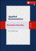 Applied Econometrics  An Introduction PDF
