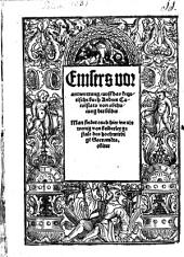 Verantwurtung ... auff d. k. Buch A. Carolsstats von abthunung der bilder: Man findet auch hierinn ein wenig von beiderley gestalt des hoch wirdigen Sacraments