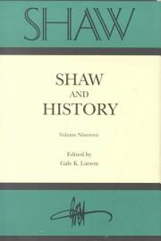Shaw And History
