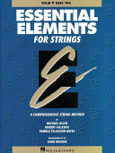 Essential Elements for Strings   Violin Book