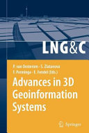 Advances in 3D Geoinformation Systems PDF
