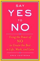 Say Yes To No PDF