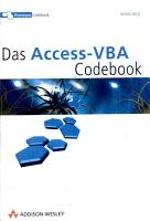 Das Access VBA Codebook PDF
