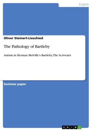 The Pathology of Bartleby PDF
